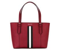 Handtasche mit gestreiftem Einsatz - women