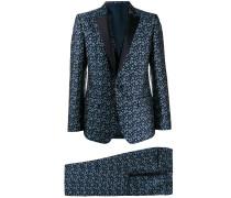 Jacquard-Anzug