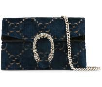 'Dionysus' Super-Mini-Tasche aus GG Samt