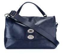 Große Handtasche mit Drehverschluss