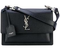 Monogram shoulder bag - women - Ziegenleder