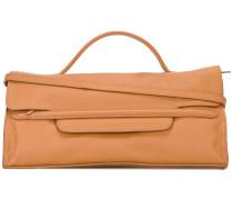 Große Handtasche mit Handgelenksgriff