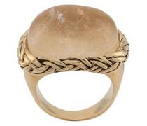 'Babylone' Ring mit Kristallen