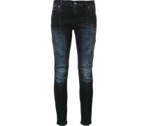 Biker-Jeans mit engem Schnitt