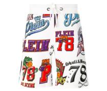 Shorts mit Logo-Print - men - Baumwolle - L