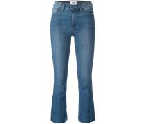 Ausgestellte 'Colette' Cropped-Hose