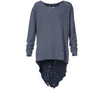 Oversized-Pullover mit Distressed-Optik