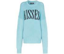 'Kisses' Oversized-Pullover