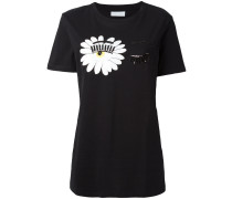 - T-Shirt mit verziertem Augenmotiv - women