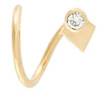 'La Verne' twirl diamond earring