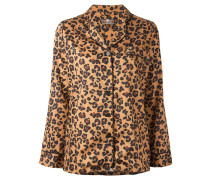Pyjama mit Leoparden-Print