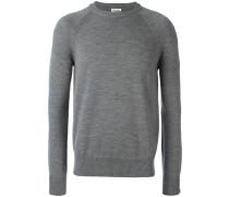 Klassischer Pullover mit Rundhalsausschnitt