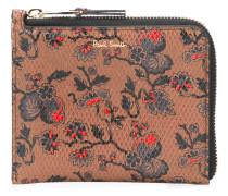 Portemonnaie mit Blumen-Print