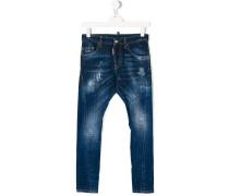 Jeans in Distressed-Optik - Unavailable