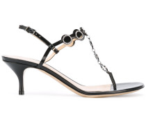 Sandalen mit Kitten-Heel-Absatz - women