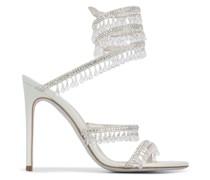 'Cleo' Sandalen mit Kristallen