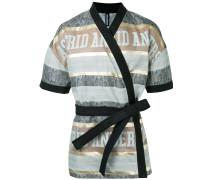 Kimonojacke mit kurzen Ärmeln