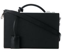 briefcase style shoulder bag