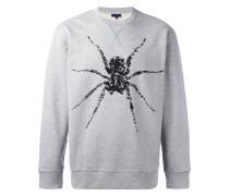 Sweatshirt mit Perlenspinne - men