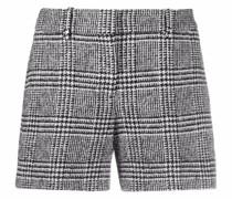 Shorts mit Hahnentrittmuster