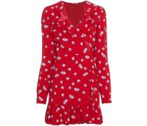 Kleid mit Erdbeer-Print