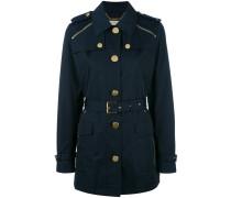 Mantel mit Reißverschlüssen