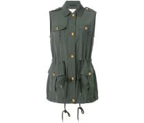 sleeveless military jacket