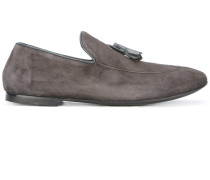 Wildleder-Loafer mit Quasten - men