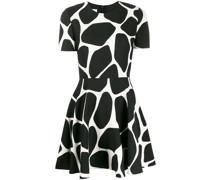 Minikleid mit Giraffen-Print