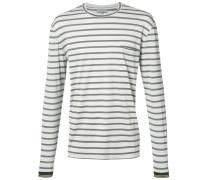 Langarmshirt mit Querstreifen - men - Baumwolle