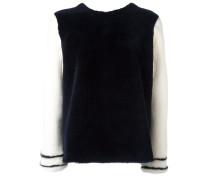 'Adultere' Pullover aus Nerz und Lammleder