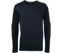 Sweatshirt mit gesteppten Ellenbogen-Patches