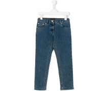 Jeans mit Gesäß-Patch