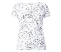 T-Shirt mit Zeichnungen