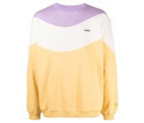 Wave Sweatshirt in Colour-Block-Optik