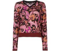 paisley print jumper