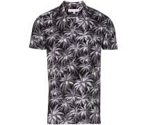 'Felix' Poloshirt mit Palmen