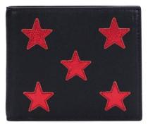 Portemonnaie mit Sternstickerei