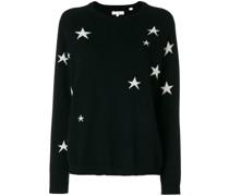 Kaschmirpullover mit Sternemuster