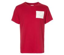 short sleeved patch T-shirt