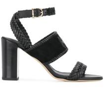 Sandalen mit gewebten Riemen