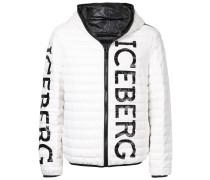padded logo jacket