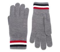 Handschuhe mit Logo-Patch