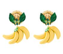 Ohrclips mit Bananenanhänger