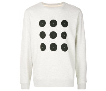 dot print sweater