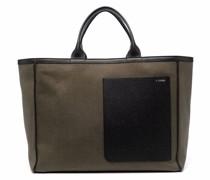 Shopper mit Kontrasttaschen