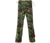 camouflage logo trousers