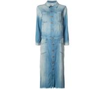 stonewashed denim shirt dress