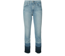 'Shelter' Cropped-Jeans - women
