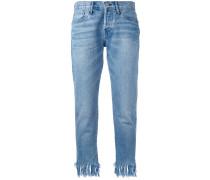 Jeans mit Quaste - women - Baumwolle - 29
